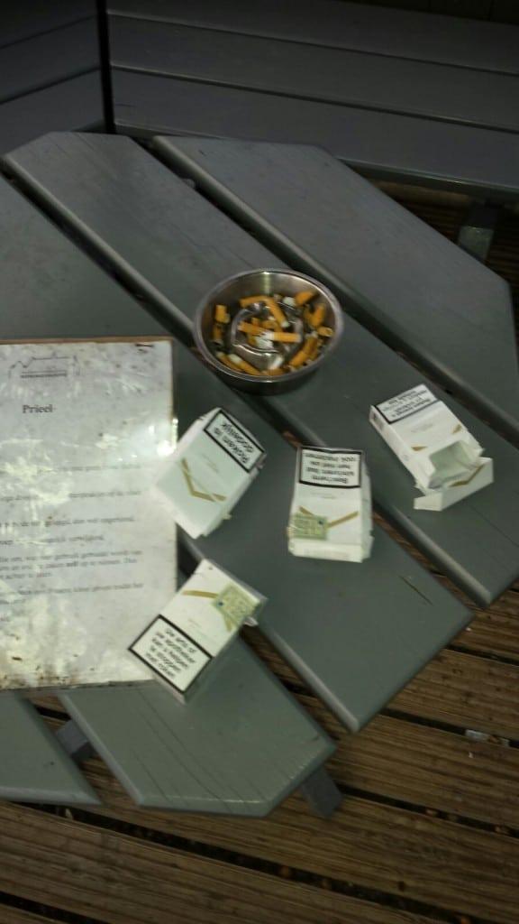sigaretten afval peuken