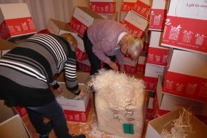 Dozen vouwen voor kerstpakketten