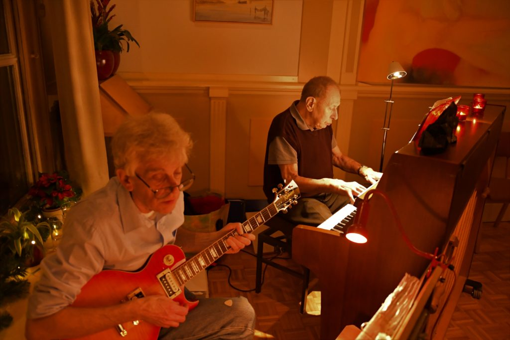 muziek Fred Seebolt en Cor Koblenz
